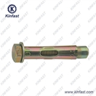 Sleeve anchor with hex head bolt